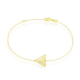 Bracelet Katie Or Jaune Triangle - Bijoux Femme | Histoire d'Or