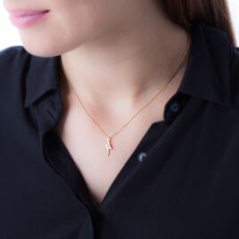 Collier Etienna Or Jaune Diamant - Bijoux Femme | Histoire d'Or