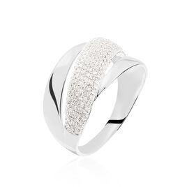 Bague Maiwenn Or Blanc Diamant - Bagues avec pierre Femme | Histoire d'Or