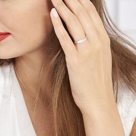 Bague Suzie Or Blanc Diamant - Bagues avec pierre Femme | Histoire d'Or