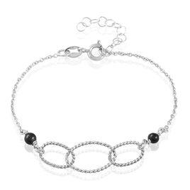 Bracelet Oswald Argent Blanc Pierre De Synthese - Bracelets fantaisie Femme | Histoire d'Or