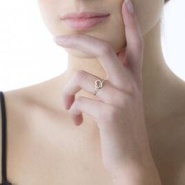 Bague Louise Or Blanc Diamant - Bagues Coeur Femme | Histoire d'Or