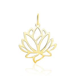 Pendentif Hadaya Lotus Or Jaune - Pendentifs Femme | Histoire d'Or