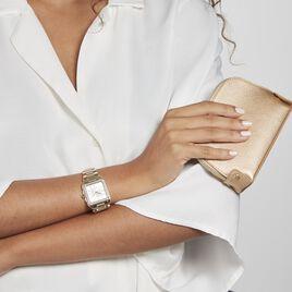 Montre Gc Couture Square Nacre Blanche - Montres Femme   Histoire d'Or