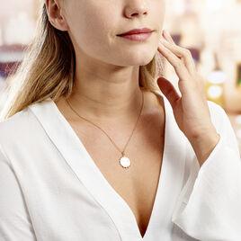 Collier Maggi Plaque Or Jaune - Bijoux Femme | Histoire d'Or
