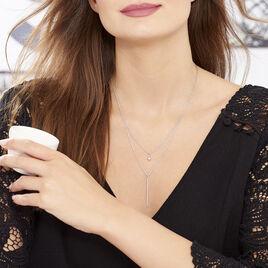 Collier Bogumila Argent Blanc - Colliers Etoile Femme | Histoire d'Or