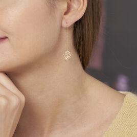 Boucles D'oreilles Pendantes Nevia Or Jaune - Boucles d'oreilles pendantes Femme | Histoire d'Or