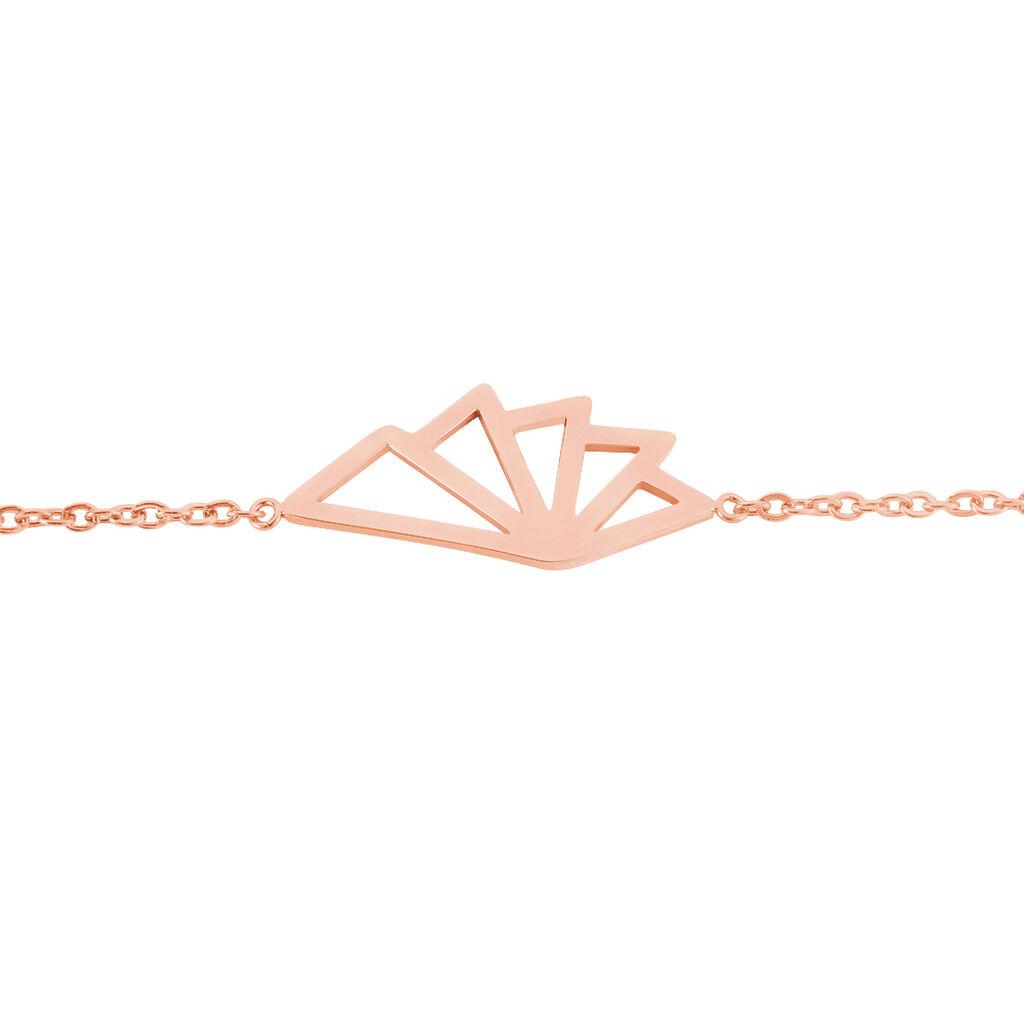 Bracelet Osaka Acier Rose - Bracelets fantaisie Femme | Histoire d'Or