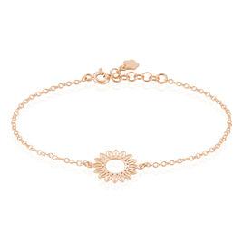 Bracelet Ombelline Argent Rose - Bracelets fantaisie Femme | Histoire d'Or