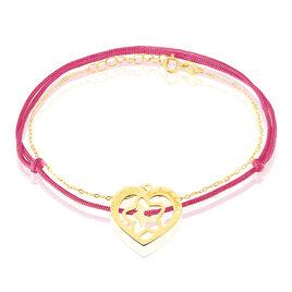 Bracelet Angelina Message Or Jaune - Bijoux Etoile Femme   Histoire d'Or
