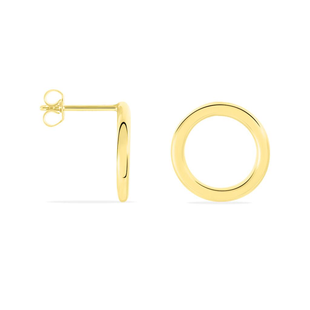 Boucles D'oreilles Pendantes Gracieuse Or Jaune - Boucles d'oreilles pendantes Femme   Histoire d'Or