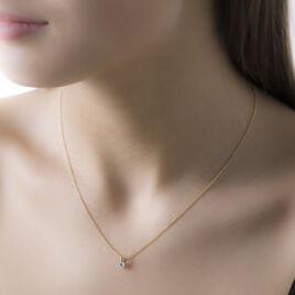 Collier Hasibe Or Jaune Diamant - Bijoux Femme   Histoire d'Or