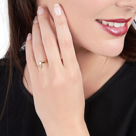 Bague Plaque Or - Bagues Coeur Femme | Histoire d'Or