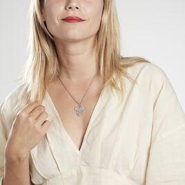 Collier Disney Acier Blanc Cristaux - Colliers fantaisie Femme   Histoire d'Or