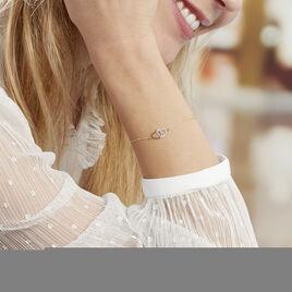 Bracelet Natala Or Bicolore - Bracelets Coeur Femme | Histoire d'Or