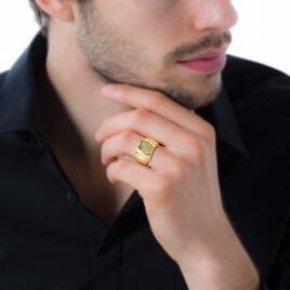 Chevalière Leoncette Plaque Or Jaune - Chevalières Homme | Histoire d'Or