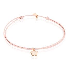 Bracelet Felixianne Argent Rose - Bracelets cordon Femme | Histoire d'Or