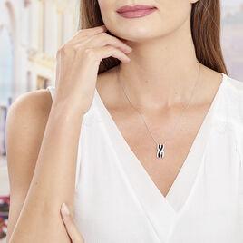 Collier Krista Argent Blanc Oxyde De Zirconium - Colliers fantaisie Femme | Histoire d'Or