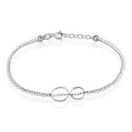 Bracelet Argent Rhodié Merien - Bracelets fantaisie Femme | Histoire d'Or