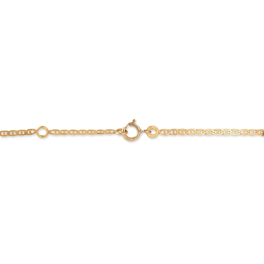 Bracelet Identité Aoife Or Jaune - Bracelets Communion Enfant | Histoire d'Or