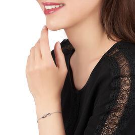 Bracelet Prudentia Argent Blanc Oxyde De Zirconium - Bracelets Infini Femme | Histoire d'Or
