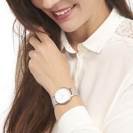 Montre Pierre Lannier Week End Basic Blanc - Montres tendances Femme | Histoire d'Or