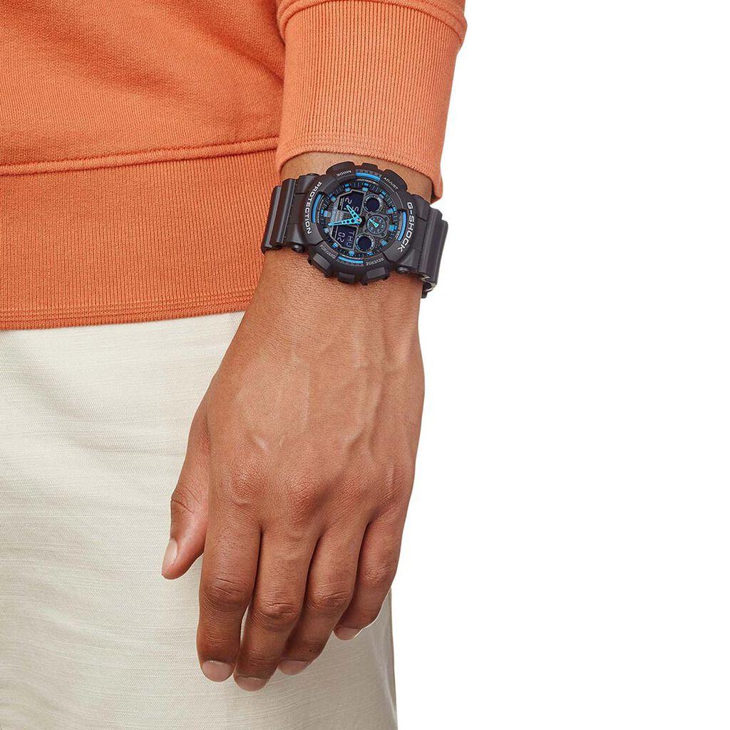 Montre Casio G-shock Blue Trend Nacre - Montres Homme | Histoire d'Or