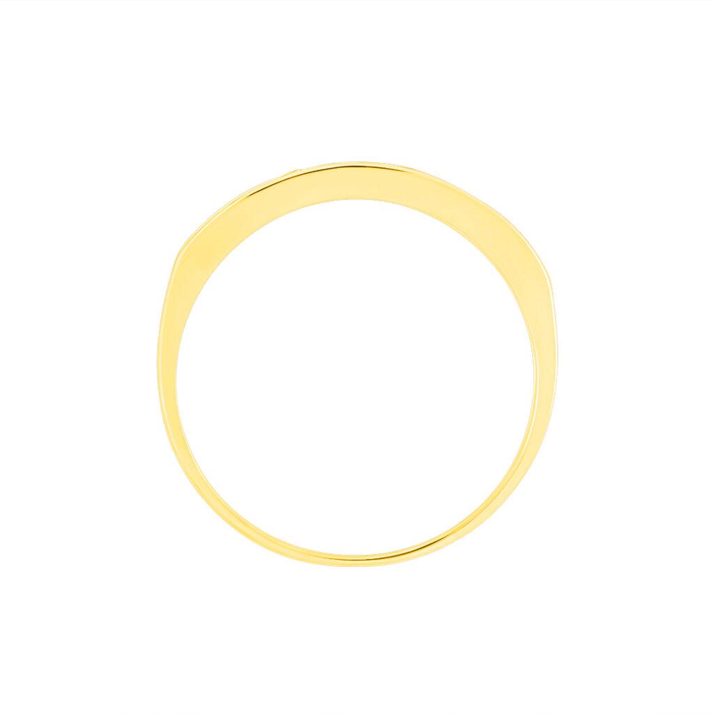 Alliance Davila Or Jaune Oxyde De Zirconium - Alliances Femme | Histoire d'Or