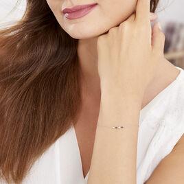 Bracelet Enid Or Blanc Diamant - Bijoux Femme | Histoire d'Or