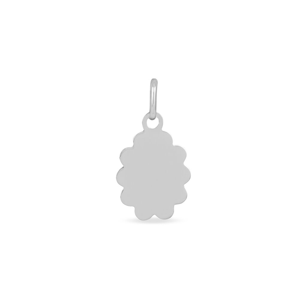 Pendentif Ange Nuage Or Blanc - Pendentifs Famille | Histoire d'Or