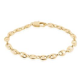 Bracelet William Plaque Or Jaune - Bracelets chaîne Femme | Histoire d'Or