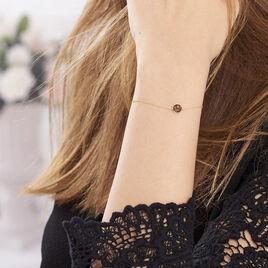 Bracelet Arenal Or Jaune Quartz Fumé - Bijoux Femme | Histoire d'Or