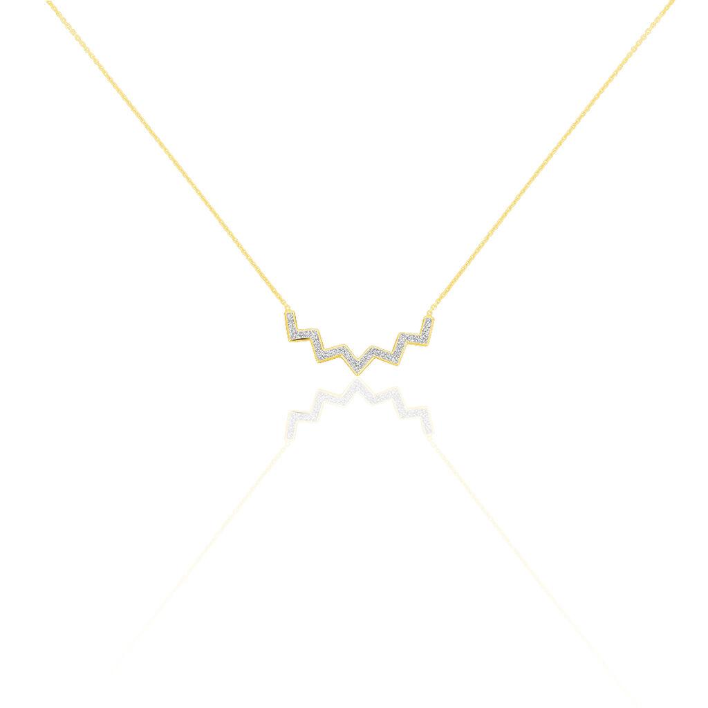 Collier Galla Or Jaune - Bijoux Femme | Histoire d'Or