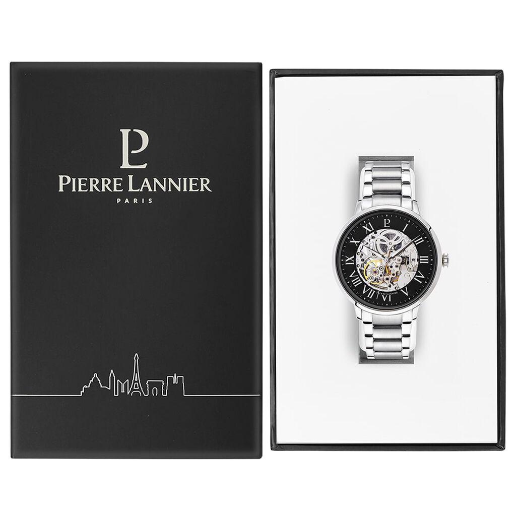 Montre Pierre Lannier Collection Automatic Noir - Montres automatiques Homme | Histoire d'Or