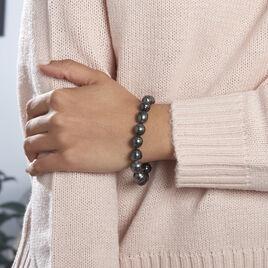 Bracelet Cerclee Or Jaune Perle De Culture De Tahiti - Bijoux Femme   Histoire d'Or
