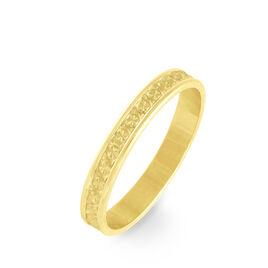 Alliance Laura Ruban Plat Or Jaune - Alliances Unisexe   Histoire d'Or