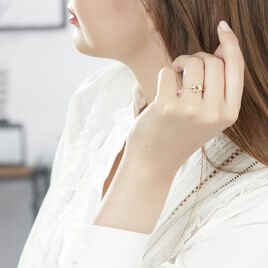 Bague Helidie Or Jaune Diamant - Bagues avec pierre Femme | Histoire d'Or