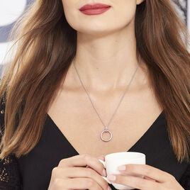 Collier Magda Argent Blanc - Colliers fantaisie Femme   Histoire d'Or