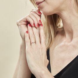 Bague Farila Or Rose Diamant - Bagues avec pierre Femme | Histoire d'Or