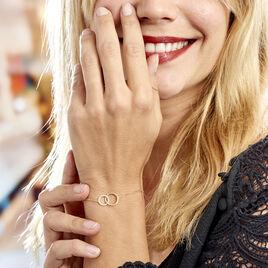 Bracelet Or Jaune Nesrine Oxydes - Bijoux Femme | Histoire d'Or