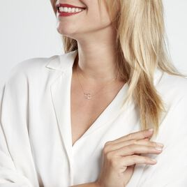 Collier Or Bicolore Eleutheria - Colliers Coeur Femme | Histoire d'Or