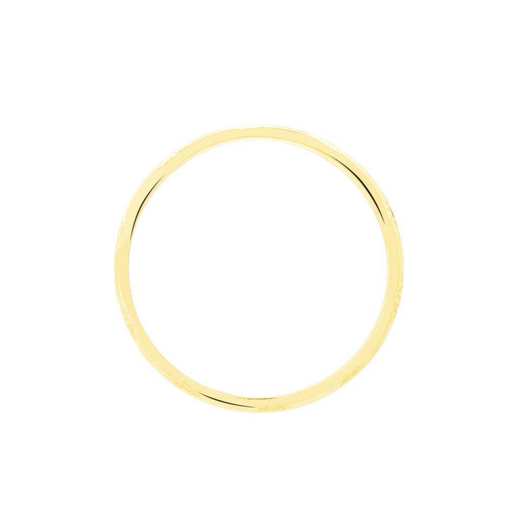 Alliance Clotilde Demi Jonc Classique Or Bicolore - Alliances Unisexe   Histoire d'Or