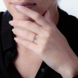 Bague Solitaire Collection Victoria Or Jaune Diamant - Bagues avec pierre Femme | Histoire d'Or