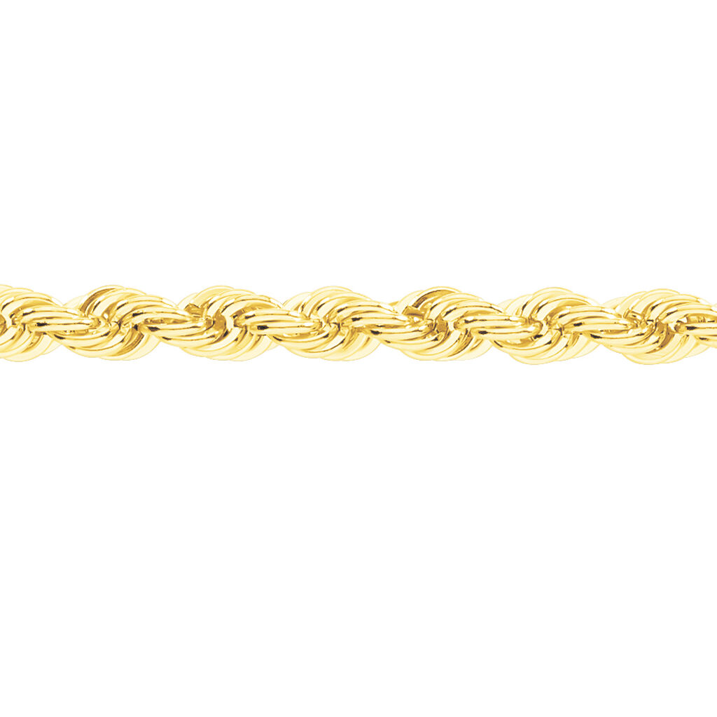 Collier Ceylan Maille Corde Or Jaune - Chaines Femme | Histoire d'Or