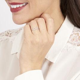 Bague Infini Empierre Or Blanc Diamant - Bagues Infini Femme | Histoire d'Or