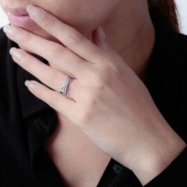 Bague Julianne Or Blanc Diamant Divers - Bagues avec pierre Femme   Histoire d'Or