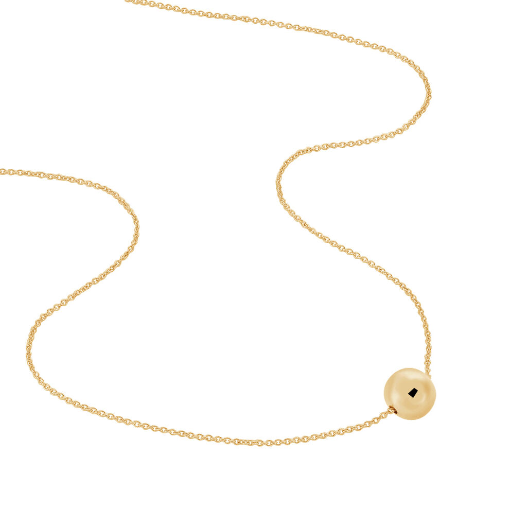 Collier Gulhanim Plaque Or Jaune - Colliers fantaisie Femme   Histoire d'Or