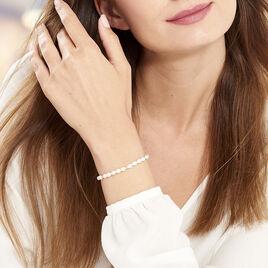 Bracelet Ciriola Or Jaune Perle De Culture - Bijoux Femme   Histoire d'Or