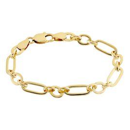 Bracelet Plaque Or Lavrenti - Bracelets chaîne Femme | Histoire d'Or