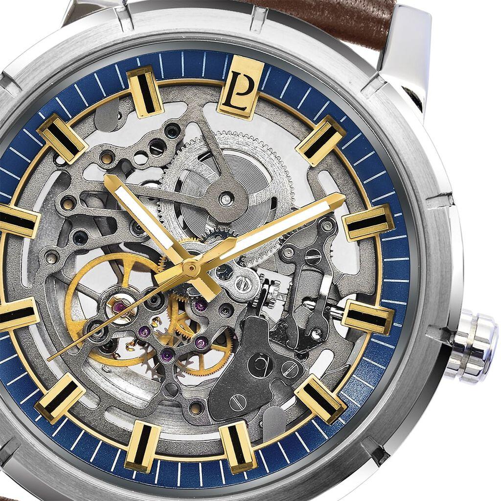 Montre Pierre Lannier Collection Automatic Bleu - Montres automatiques Homme | Histoire d'Or